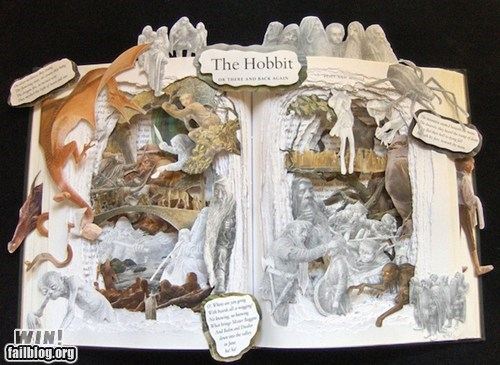 art,best of week,book,Hall of Fame,hobbit,Lord of the Rings,sculpture,The Hobbit