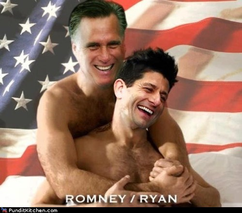Of Course There's Romney/Ryan Slash Fiction