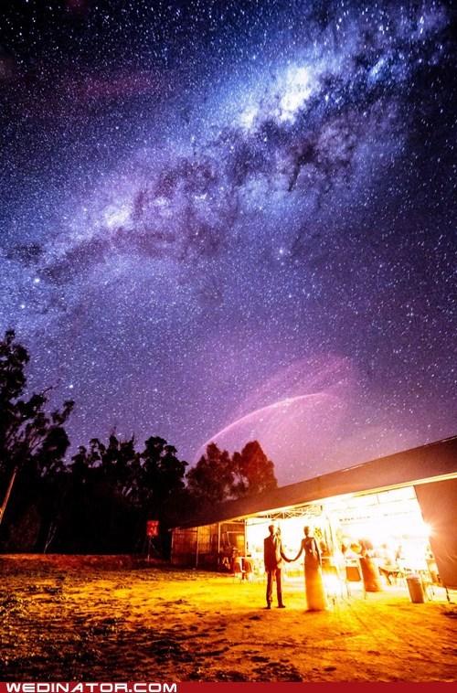 just pretty,long exposure,milky way,night,sky,stars,wedding
