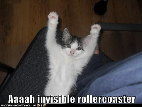 Aaaah invisible rollercoaster