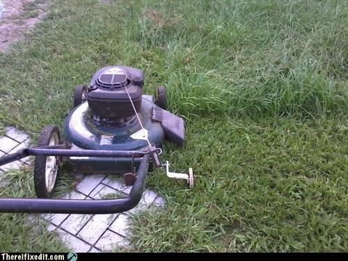 lawn mower,training wheels