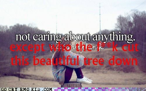 Trees Have Feelings Too!!