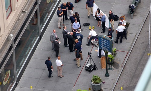 Breaking News of the Day: 2 Killed In Shooting Near Empire State Building [UPDATED]