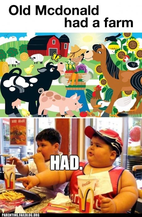 The Fat Kid Ate All the Animals