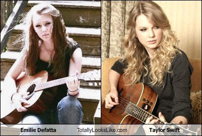 Emilie Defatta Totally Looks Like Taylor Swift