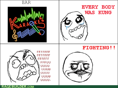 Rage Comics: Why No, I Haven't Taken Voice Lessons