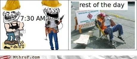 jackhammer,construction work,construction workers
