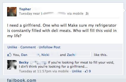 deli,deli meat,fridge,girlfriend,meat,refrigerator,void