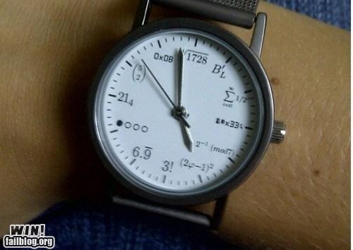 WIN!: Math Watch WIN