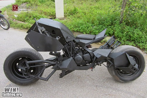 DIY Batpod WIN