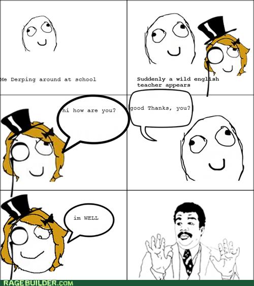 Badass Proper English