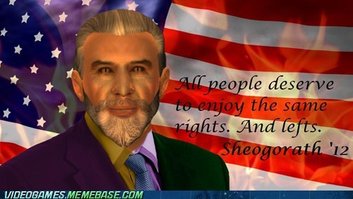 Video Games: Sheogorath for President