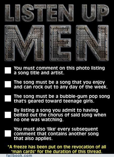 A post for men to come clean