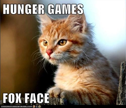 HUNGER GAMES  FOX FACE