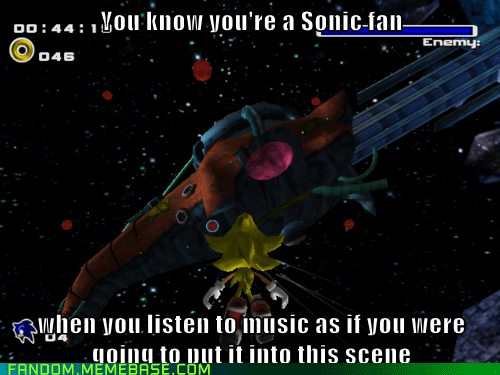 Confessions of a Sonic Fan