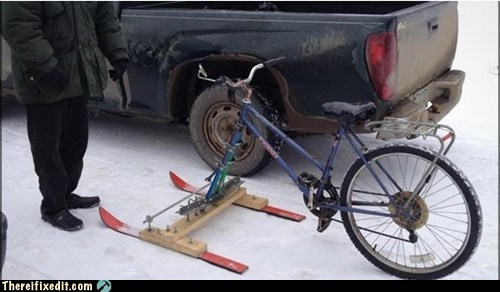 Can't Afford a Snowmobile?