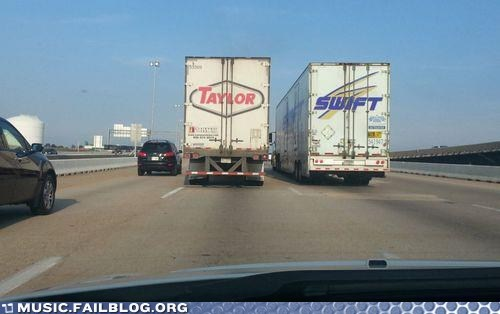 taylor swift,trucks