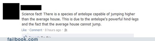 Failbook: If Science Says So...