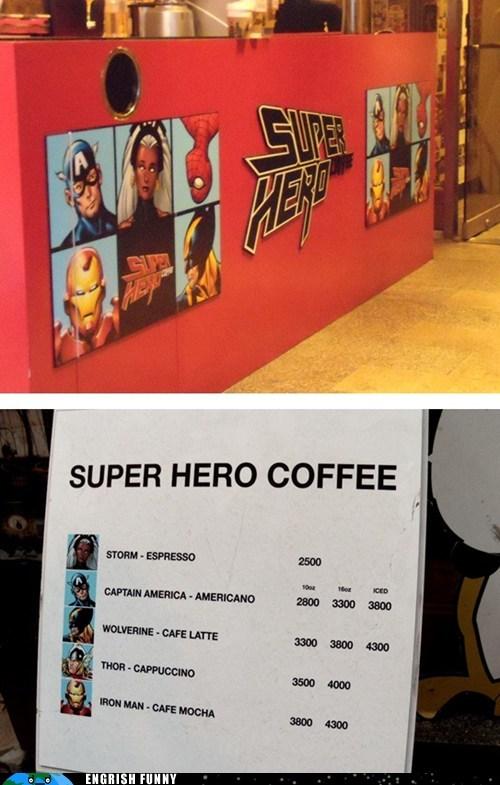 cafe,copyright,knockoff,korea,super hero