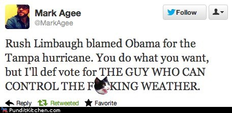 Failbook: Hurricane Isaac Delays RNC, Displays Clear Liberal Bias