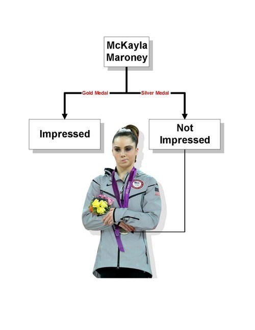 flow chart,mckayla is not impressed,meh,olympics