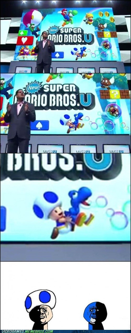 Blue Yoshi Was Drunk