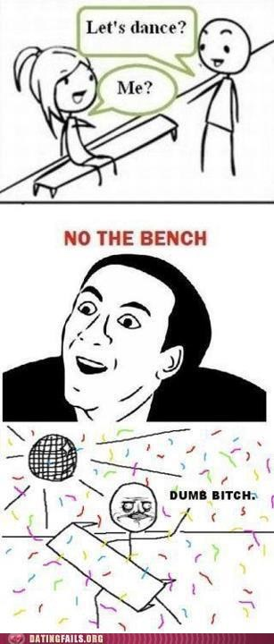 Oh Bench, You're the Only One That Understands Me