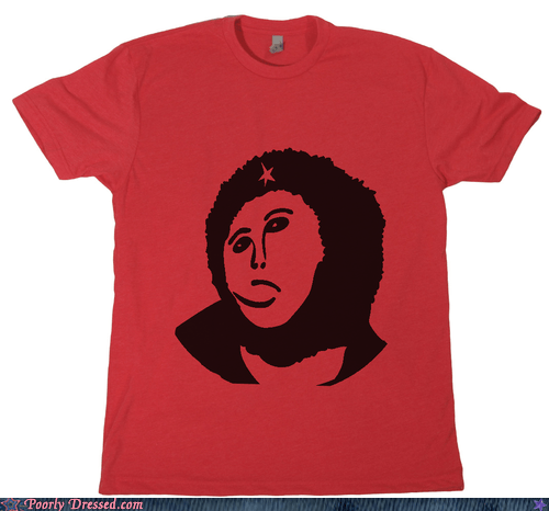 Che Guevara,destroyed painting,ecce homo,T.Shirt