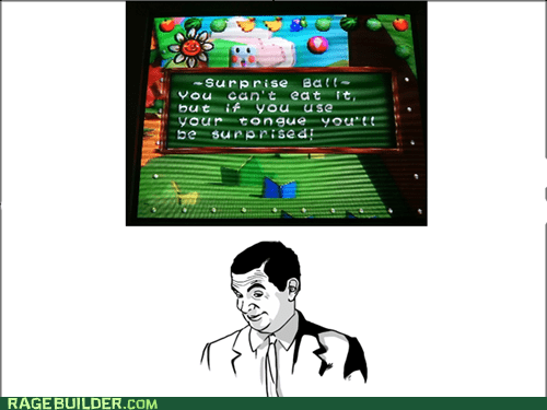 if you know what i mean,video games,surprises