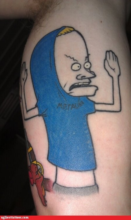 Ugliest Tattoos: I AM THE GREAT CORNHOLIO!
