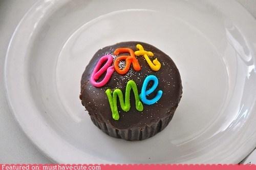 chocolate,cupcake,eat me,epicute,glitter,icing