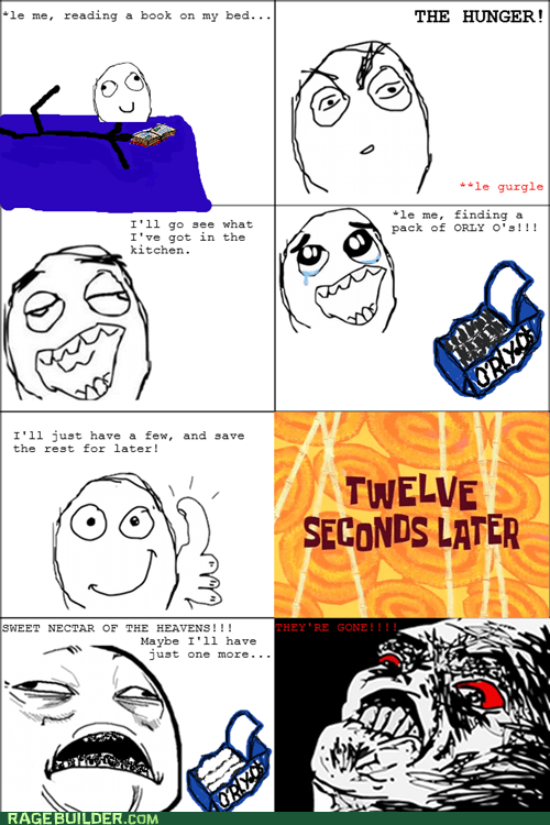 Rage Comics: Cookie Conservation Fail