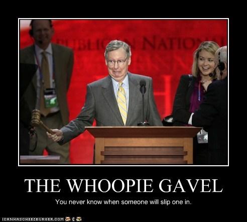 THE WHOOPIE GAVEL