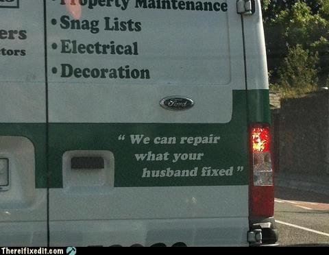 slogans,vans,husbands