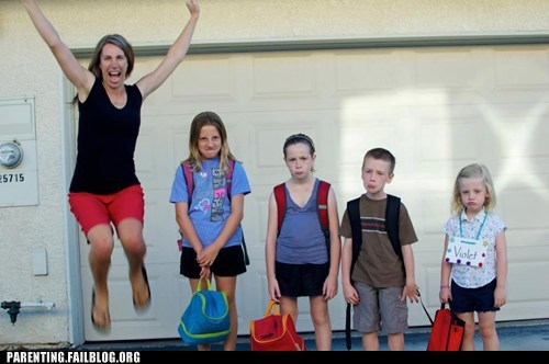 Parenting Fails: Back to School!
