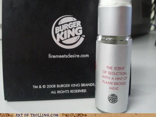 burger king,IRL,perfume,wtf