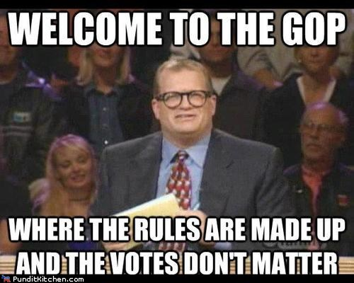 dont-matter,drew carey,made up,rnc,Ron Paul,usa,votes