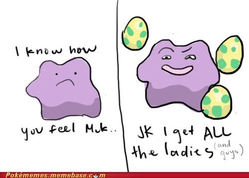 We're Both Purple Blobs, But I'm Better