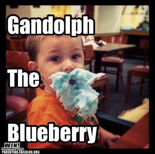 beard,blueberry,cotton candy,gandolf