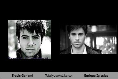 Travis Garland Totally Looks Like Enrique Iglesias