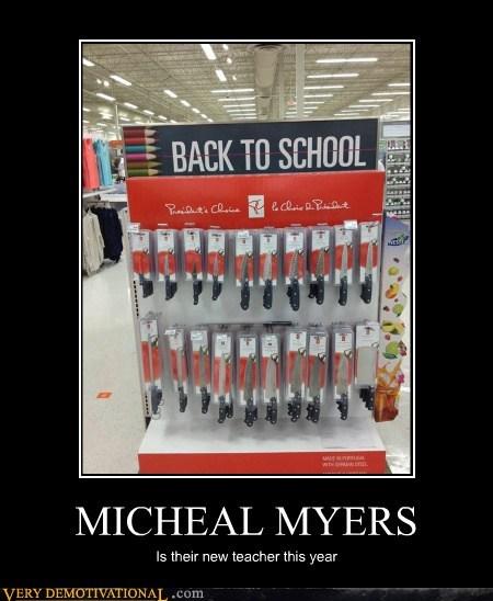 friday the 13th,michael myers,teacher