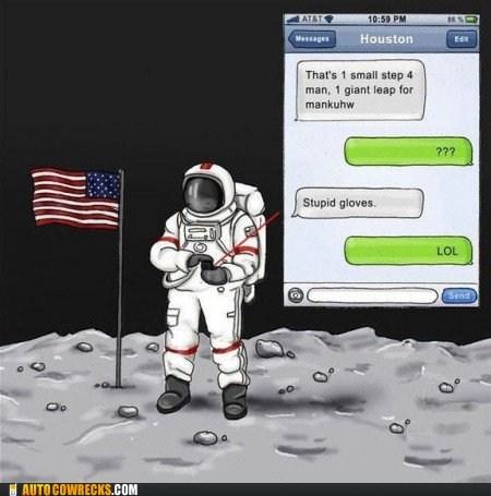 gloves,lunar landing,neil armstrong,the moon