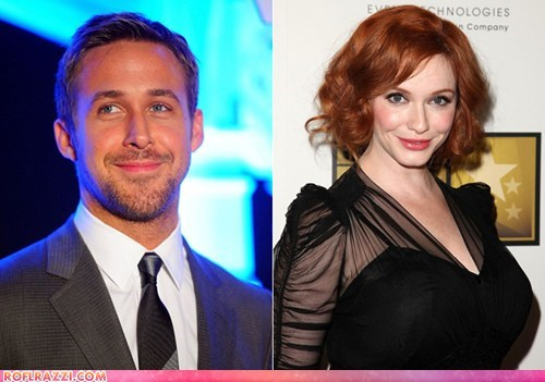 How to Catch a Monster: Ryan Gosling + Christina Hendricks = GOLD