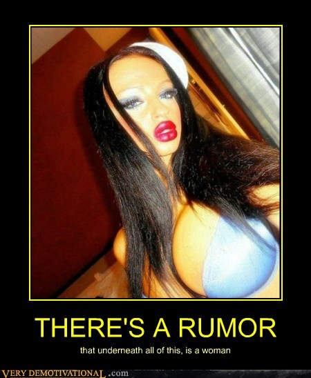 THERE'S A RUMOR