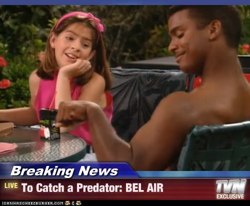 Breaking News - To Catch a Predator: BEL AIR