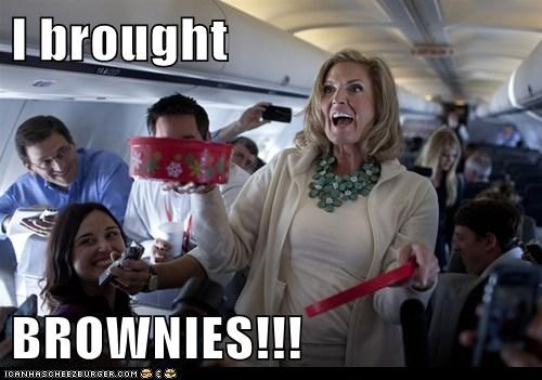 I brought   BROWNIES!!!