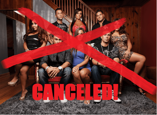 Jersey Shore Cancellation of the Day
