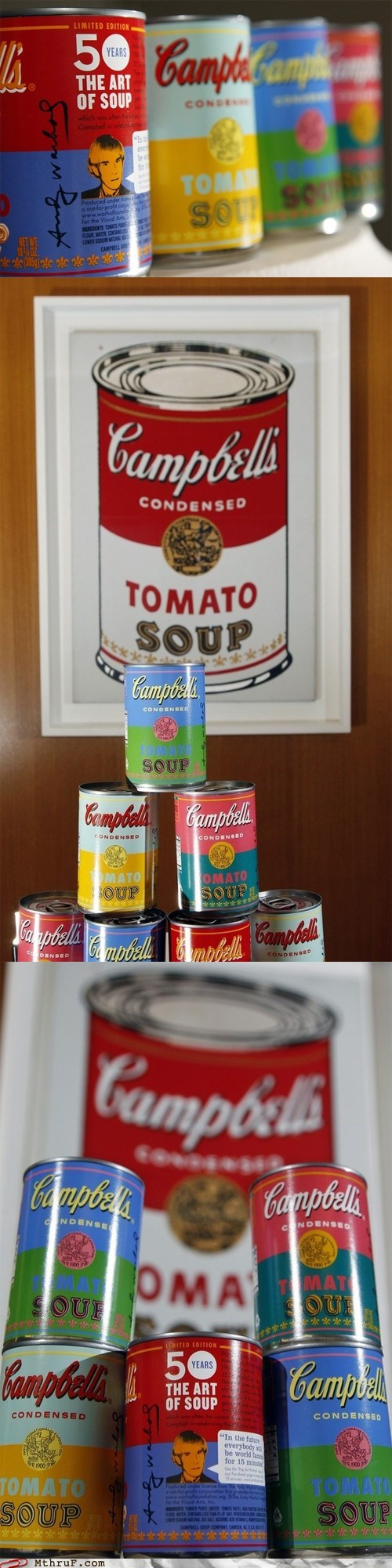 Workplace WIN: Campbells to Begin Selling Andy Warhol Soup Cans