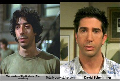 actor,celeb,david schwimmer,funny,Movie,the warriors,TLL