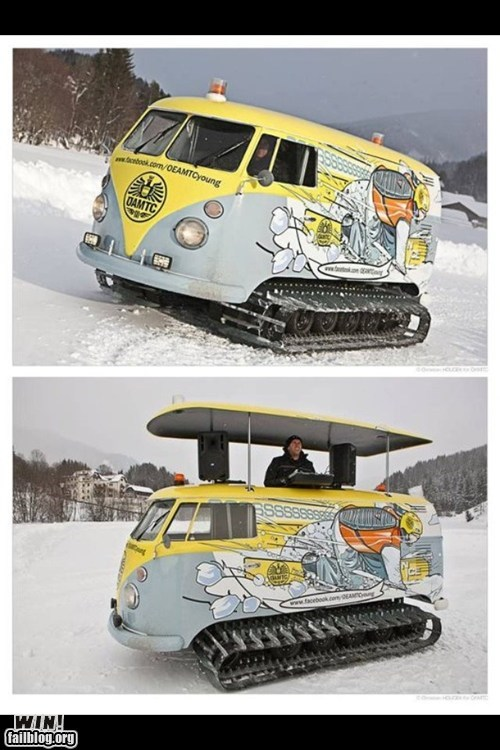 Snow Van WIN